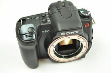Sony A350 Digital Camera. Everything work fine, except the LCD screen is damaged