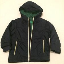 Sale!!  Bennetton 2yrs Boys Navy Hooded Jacket Toddler Kids Clothes