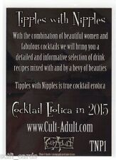 Cult-Adult Tipples with Nipples Promo Card TNP1 Cocktails Cult-Stuff