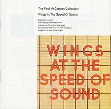 PAUL MCCARTNEY COLLECTION WINGS AT THE SPEED OF SOUND CD Jewel Case+GIFT Beatles