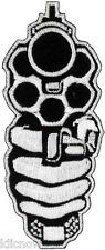 "Gun Embroidered Patch 9CM X 3.5CM (3 1/2"" X 1-1/2"")"
