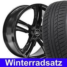 """18"""" MAM A1 S Line Black Design Winterräder 225/40 für Mercedes CLK Klasse W 209"""