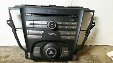 09 10 11 12 13 14 Acura TL 6 Disc CD Radio Face Plate Only 39100-TK4-A000 1BB0