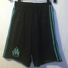 Olympique de Marseille Droit Au But Adidas Climacool Soccer Shorts Youth L Large