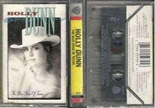 Holly Dunn - The Blue Rose Of Texas (Cassette 1989 Warner) NEW-SEALED! - CUT-OUT