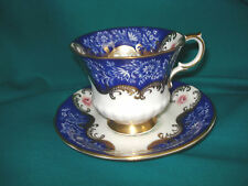 Paragon Cup & Saucer - By Appointment to HM the Queen - Blue # 2