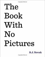 The Book with No Pictures, New, Free Shipping