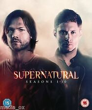 Supernatural: The Complete Seasons (Series) 1 2 3 4 5 & 6 7 8 9 10 Box Set | DVD