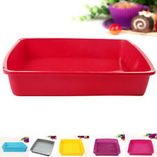 Silicone Bread Loaf Cake Mold Non-Stick Bakeware Baking Pan Oven Square Moulds