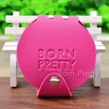 20 Slots BORN PRETTY 5.5cm Round Nail art Stamping Plate Organizer Holder Case
