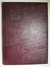 Vintage 1946 Beaver Falls High School TIGER Yearbook - Pa - Take a look!