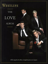 Westlife The LOVE Album Music Book Piano Guitar PVG