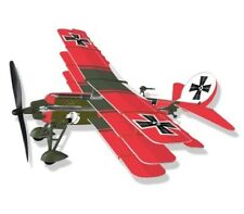 DR 1 Tri-plane Rubber Band Powered Model History Airplane Kit: Lyonaeec 22001 G1