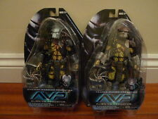 NECA Series 15 Alien vs Predator AVP Warrior & Temple Guard action figures BN