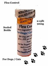 K9 Flea Control Dogs / Cats 2-15 lb 6 +1 FREE Killer tiny Sealed Last 30 days