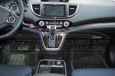 2015 2016 HONDA CRV CR-V SE LX EX EX-L SPORT INTERIOR WOOD DASH TRIM KIT SET