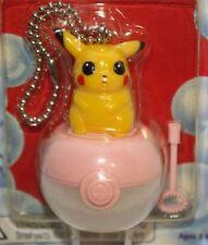 Pokemon Pickachu Micro Bubbles Keychain New Vtg 1999 Nintendo Hasbro Koosh