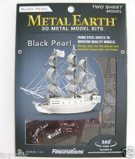METAL EARTH - BLACK PEARL SHIP - 3D METAL MODEL KIT - BRAND NEW & SEALED!