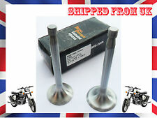 GENUINE NEW ROYAL ENFIELD MOTORCYCLE BULLET ENGINE HEAD VALVE KIT 350cc @UK