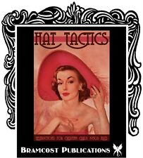 1950 Hat Tactics Book, Drager Making Millinery Patterns