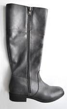 Esprit Hochwertige hohe Stiefel Grau aus Echtleder UVP: 199 €