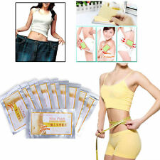 100Pcs Slim Patches Diet Slimming Fast Loss Weight Burn Fat Belly Feet Effective