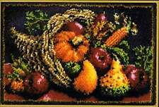 """Caron Classic - COUNTRY HARVEST - Latch Hook Kit  20"""" x 30"""""""