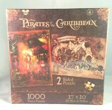 DISNEY PARKS 2 SIDED PUZZLE PIRATES OF THE CARIBBEAN