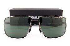 New Porsche Design Sunglasses P8615 8615 D Gunmetal/Black/Green Men Women SZ 67