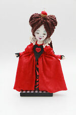 """Arte hecho a mano muñeca de fantasía Reina de un """"Alicia en el país de las maravillas"""" tema de un tipo"""