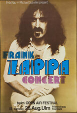 "Frank Zappa German 16"" x 12"" Photo Repro Concert Poster"