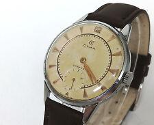 Reloj hombre CYMA CYMAFLEX 586K Original de cuerda Vintage años 60's