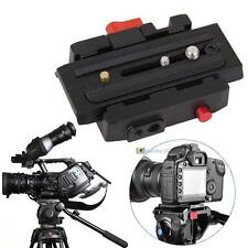 NEW Camera Quick Release Adapter System With Slide Plate for Tripod Ball Head SS