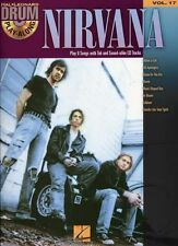 Drum Play-Along Learn to Play Nirvana Pop Rock Music Book & CD
