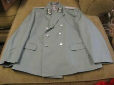 East German BORDER GUARD Officers Parade Dress Uniform Jacket K-56 XL