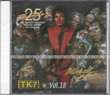 CD 15T MICHAEL JACKSON TK7 VOL 18  PRESSAGE TUNISIE NEUF SCELLE