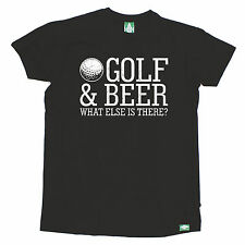 Golf & Beer What Else Is There T-SHIRT - golfer golfing funny humour present