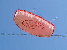 "55"" Soft Stunt Sport Parafoil Kite surfing with Flying Tool Set dual line RED"