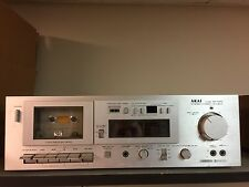 Vintage AKAI GX-M10 Single Stereo Two-Head Cassette Deck