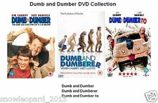 DUMB AND DUMBER DUMBERER TO TRILOGY DVD TRIPLE PACK PART 1 2 3 MOVIE Jim Carry