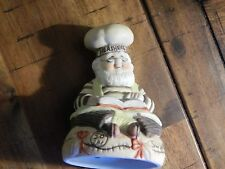 HERSHEY BAKER - Porcelain Bell - Ltd. & Licensed (FREE SHIP.) Culinary/Candy