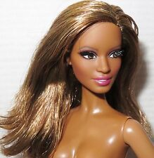 NUDE BARBIE ~ BRUNETTE AA PAZETTE THE LOOK CITY SHINE MODEL MUSE DOLL FOR OOAK