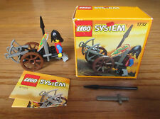 Lego 1732 Castle Crossbow Cart – Boxed & Complete ~ great cond. (pics inside)