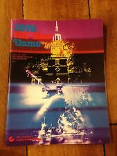 1976 ALL-STAR PROGRAM PHILADELPHIA PHILLIES VETERANS STADIUM
