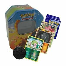 50 x tarjetas de Pokemon Bundle + Pokemon Tcg Tin & moneda incluye Shinys & Tarjetas Raras