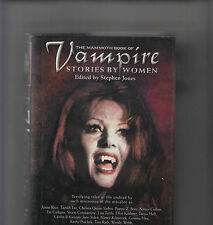 STEVEN JONES  hcdj The Mammoth Book of Vampire Stories by Women