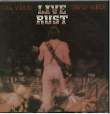 NEIL YOUNG & CRAZY HORSE Live Rust 1979 UK vinyl LP EXCELLENT CONDITION