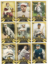 2015 TOPPS THE BABE RUTH STORY INSERT CARD #BR-1