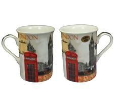 London Scene  Fine Ceramic China Mug Boxed Souvenir Gift