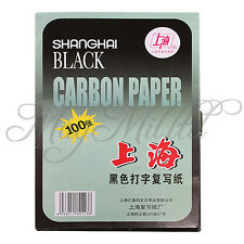 100XA4 Carbon Paper Premium Quality Hand Copy Black